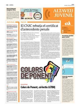 Colors de Ponent, Col·lectiu LGTBIQ de Lleida