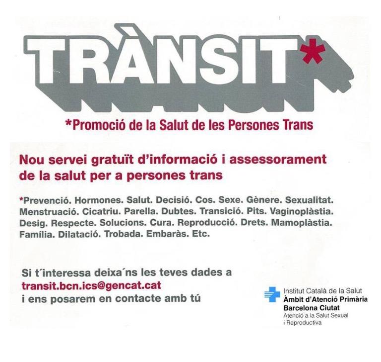 Formació de Rosa Almirall sobre atenció a persones trans en l'àmbit de la salut