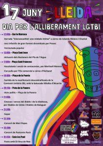 17 de juny, dia per a l'alliberament LGTBI a Lleida