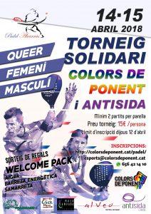I TORNEIG SOLIDARI Antisida Lleida i Colors de Ponent